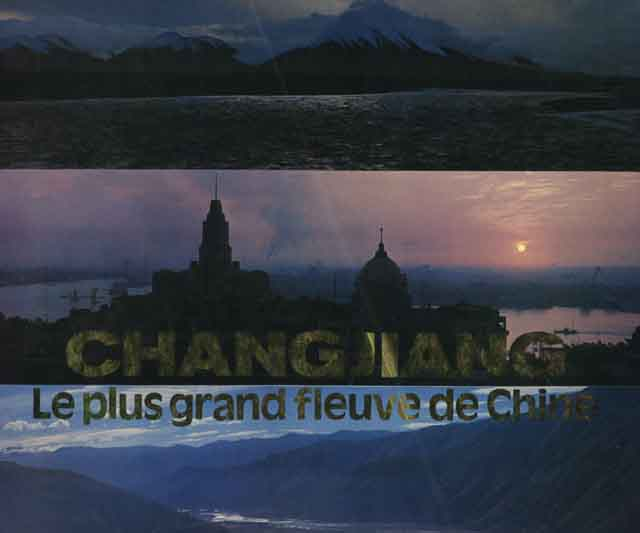 Copertina di CHIANGJIANG  LE PLUS GRAND FLEUVE DU CHINE